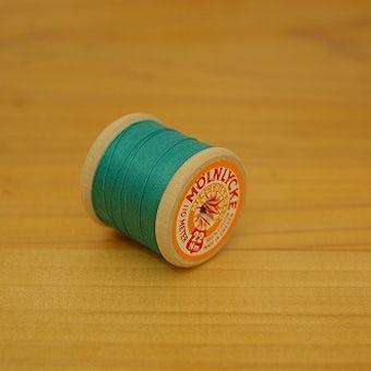 スウェーデンで見つけた糸巻き エメラルドグリーンの商品写真