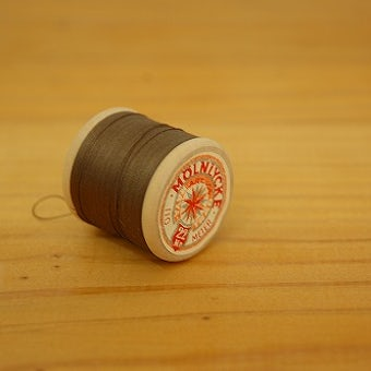 スウェーデンで見つけた糸巻き ブラウンの商品写真