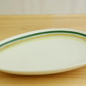 グスタフスベリ GUSTAVSBERG  FAUNA 楕円形プレート(大)スティグ・リンドベリデザインの商品写真