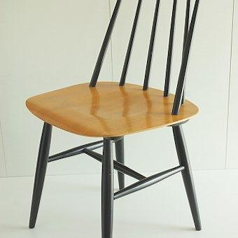 イルマリ・タピオヴァラ Ilmari Tapiovaara  Fanett chair  ファネットチェア(ライトブラウン)の商品写真
