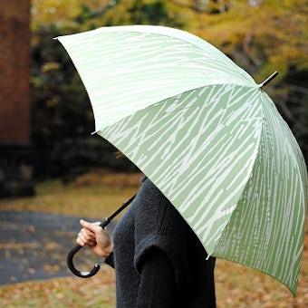 【次回10月入荷予定】kura/Bamboo/バンブー/傘(グリーン)の商品写真