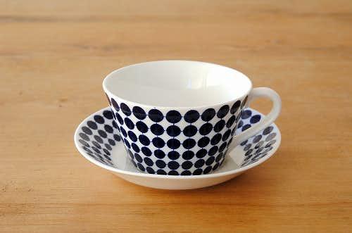 グスタフスベリ/スティグ・リンドベリ/ADAM/ティーカップ&ソーサーの商品写真
