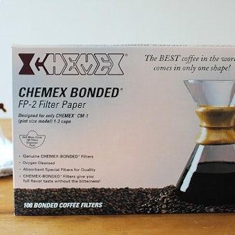 【取り扱い終了】CHEMEX/ケメックス/コーヒーメーカー3人用/ペーパーフィルター(100枚入)の商品写真