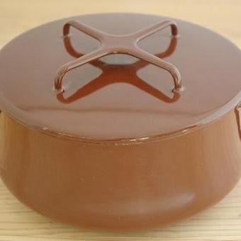 DANSK pan chocolate brown  ダンスク コベンスタイル 両手鍋 チョコレートブラウン(S)の商品写真