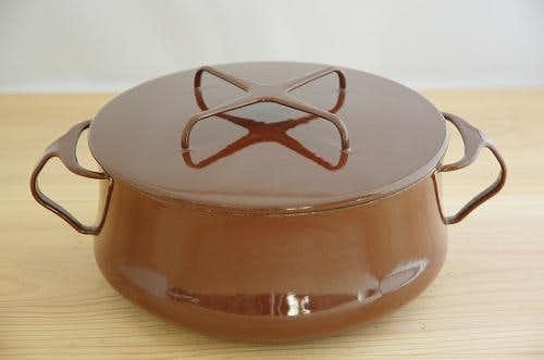 DANSK pan chocolate brown  ダンスク コベンスタイル 両手鍋 チョコレートブラウン(M)の商品写真