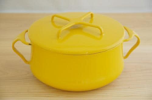 DANSK pan mustard yellow  ダンスク コベンスタイル 両手鍋 マスタードイエロー(S)の商品写真