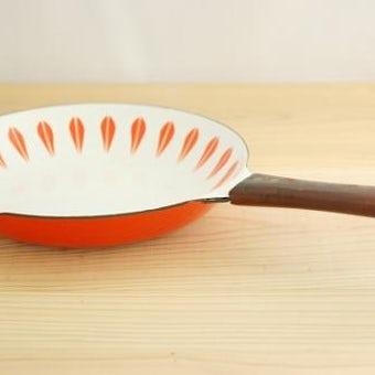 CATHERINEHOLM frypan/キャサリンホルム フライパン オレンジ×ホワイトの商品写真