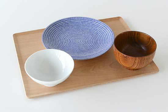 KINTO/プレイスマット/木のトレー(L)の商品写真