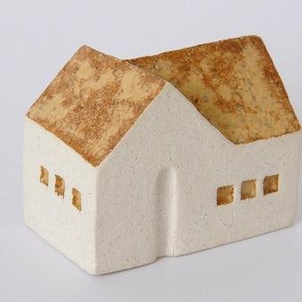 よしおかれい/家のオブジェ/2棟の家(L)の商品写真