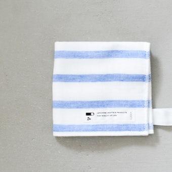 CLASKA/クラスカ/ハンドタオル(ブルー)の商品写真