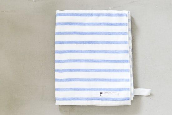 CLASKA/クラスカ/バスタオル(ブルー)の商品写真