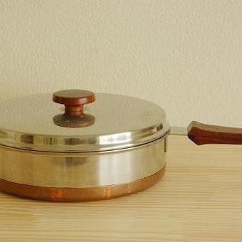NILSJOHAN/ニルスヨハン/ステンレスとチーク素材の片手鍋の商品写真