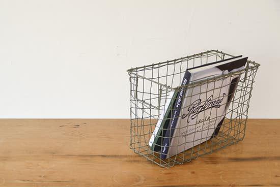 fog linen work/フォグリネン/カゴ/マガジンバスケットの商品写真