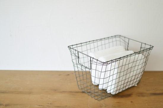 fog linen work/フォグリネン/カゴ/スタンダードバスケット(M)の商品写真