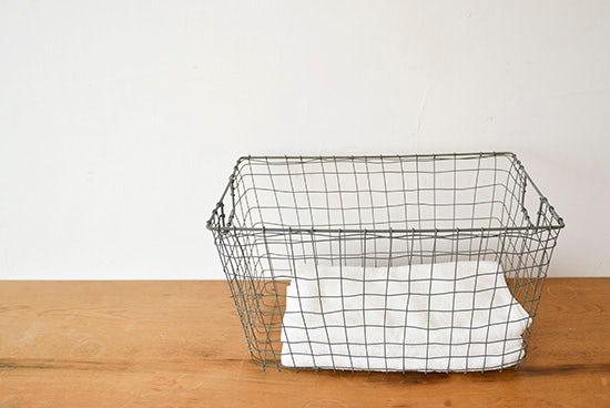 fog linen work/フォグリネン/カゴ/スタンダードバスケット(L)の商品写真