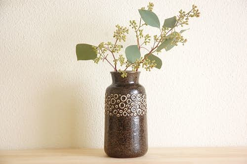 GUSTAVSBERG/グスタフスベリ/Britt-Louise Sundellデザイン/陶器の花瓶の商品写真