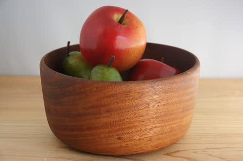 スウェーデン製/木製フルーツボウル(大)の商品写真