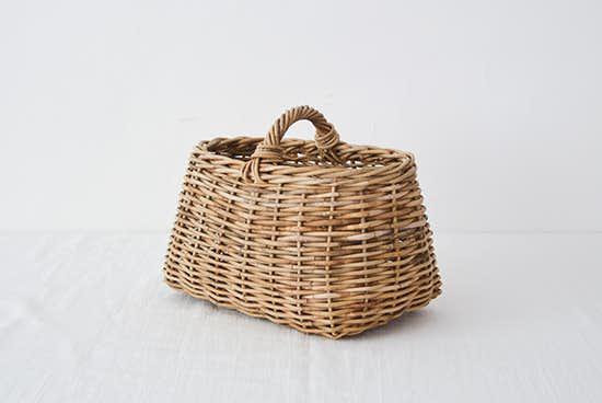 【次回6月入荷予定】Encachette/アンキャシェット/ショートハンドルバスケットの商品写真