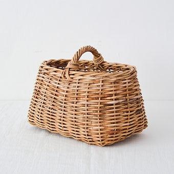 【次回10月ごろ入荷予定】Encachette/アンキャシェット/ショートハンドルバスケットの商品写真