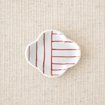 九谷焼/日下華子/もっこ豆皿/(タテヨコ)の商品写真