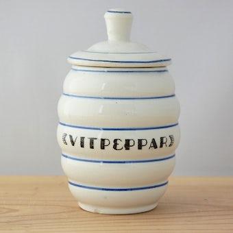 これはレア!!Gefle/ゲフル/1930年代の貴重なスパイスポットの商品写真
