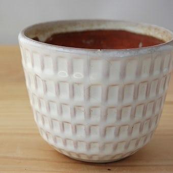 Upsala Ekeby/ウプサラエクビイ/植木鉢(ホワイト)の商品写真