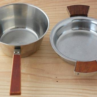 スウェーデンで見つけたキッチンツールセット(バターウォーマー&耳付きボウル)の商品写真
