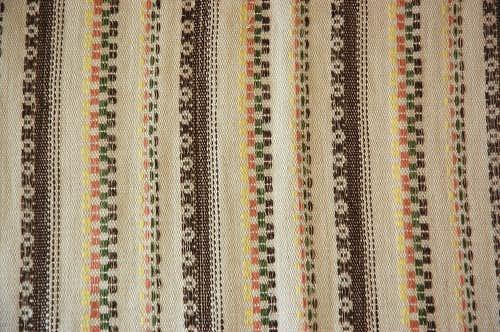 スウェーデンで見つけた織クロスの商品写真