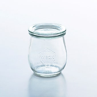 WECK/ウェック/キャニスター/チューリップシェイプ(200ml)の商品写真