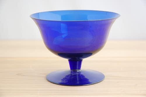 フィンランドで見つけたガラスの器(ブルー)の商品写真
