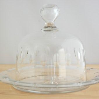 フィンランドで見つけたガラス製チーズドームの商品写真