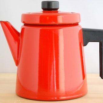 FINEL/フィネル/アンティ・ヌルメスニエミ/コーヒーポット(レッド1.5リットル)の商品写真