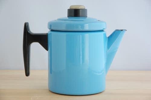 FINEL/フィネル/アンティ・ヌルメスニエミ/コーヒーポット(水色0.7リットル)の商品写真