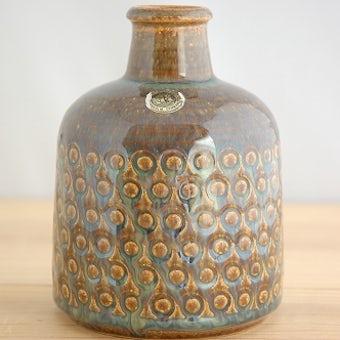 デンマーク/SOHOLM/スーホルム/温もりが感じられる陶器の花瓶の商品写真