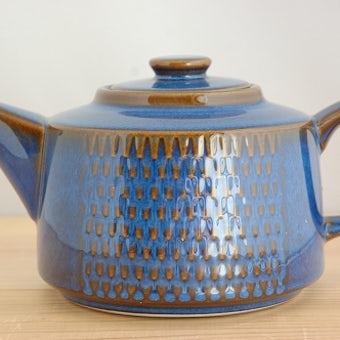 デンマーク/SOHOLM/スーホルム/陶器のティーポットの商品写真