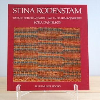 スウェーデンで見つけた伝統的な織物を解説した古い本の商品写真