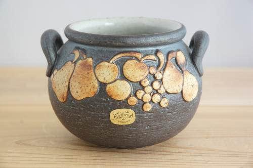 RORSTRAND/ロールストランド/Jacqueline Lyndデザイン/陶器のポットの商品写真
