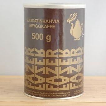 フィンランドで見つけたコーヒーキャニスターの商品写真