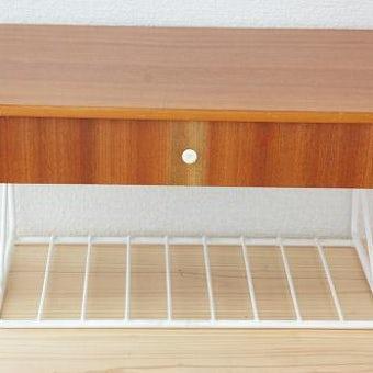 スウェーデンで見つけた小さな家具/チェストの商品写真