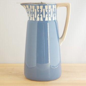 フィンランドで見つけた陶器の魔法瓶の商品写真