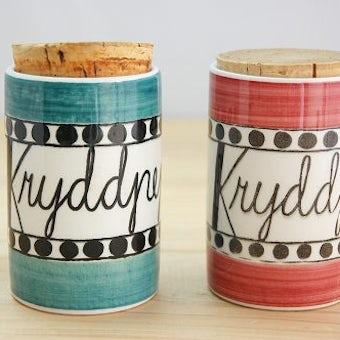 RORSTRAND/ロールストランド/AROM/陶器のスパイスポット2個セットの商品写真