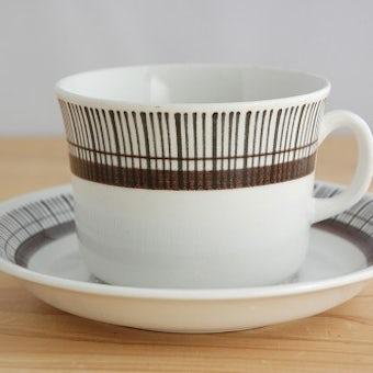Upsala Ekeby/ウプサラエクビイ/SPARTA/ティーカップ&ソーサーの商品写真