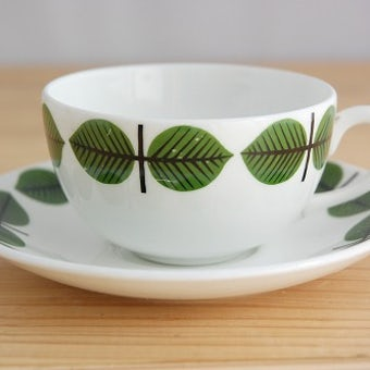 GUSTAVSBERG/グスタフスベリ/BERSA/ベルサ/コーヒーカップ&ソーサー(少々難あり)の商品写真
