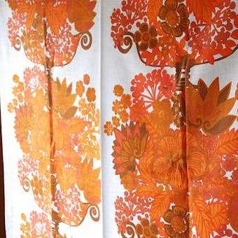 スウェーデンで見つけたカーテン2枚セットの商品写真