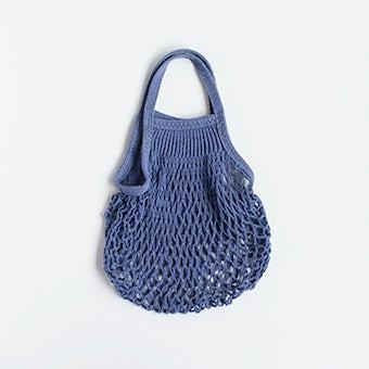 フランス/FILT社/ネットバッグ/Sサイズ(ブルージーン)の商品写真