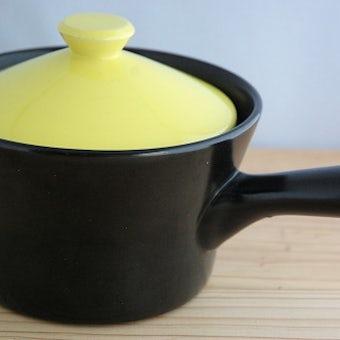 スウェーデンで見つけた陶器の片手鍋の商品写真