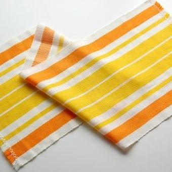 スウェーデンで見つけた織テーブルランナー(ストライプ)の商品写真