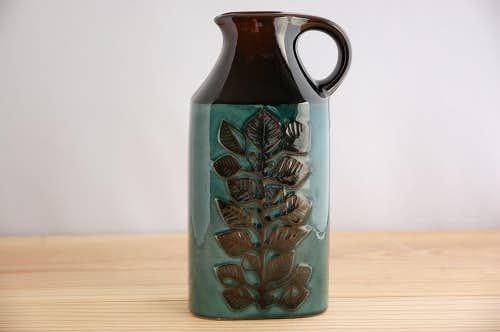 RORSTRAND/ロールストランド/LINDU/葉っぱ模様の花瓶の商品写真
