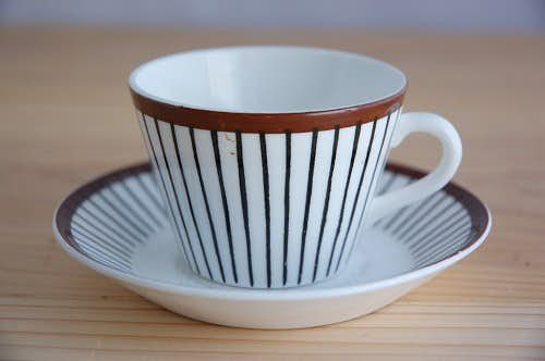 GUSTVSBERG/グスタフスベリ/SPISA RIBB/スピサ・リブ/コーヒーカップ&ソーサーの商品写真