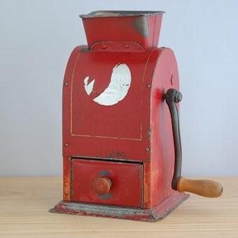 スウェーデンで見つけた古いコーヒーミルの商品写真